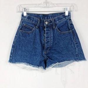 Brandy Melville J Galt | High Rise Jean Shorts